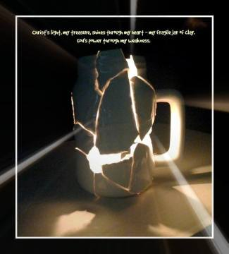 Christ's Light in Jars of Clay